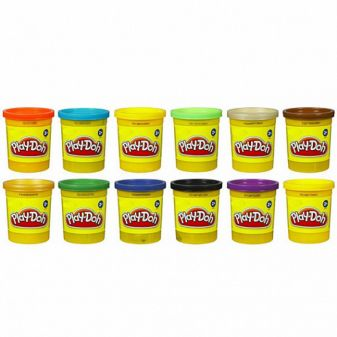 PLAY-DOH - Play-Doh Пластилин: 1 Баночка обложка книги