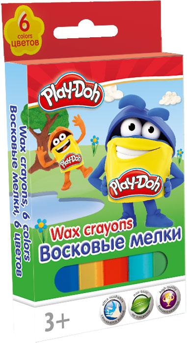 PDDB-US1-CR6 Восковые мелки. Набор 6 шт.. Play-Doh