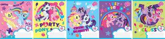 Тетр 12л скр А5 кос лин карт MP22/5-EAC ВД лак My Little Pony