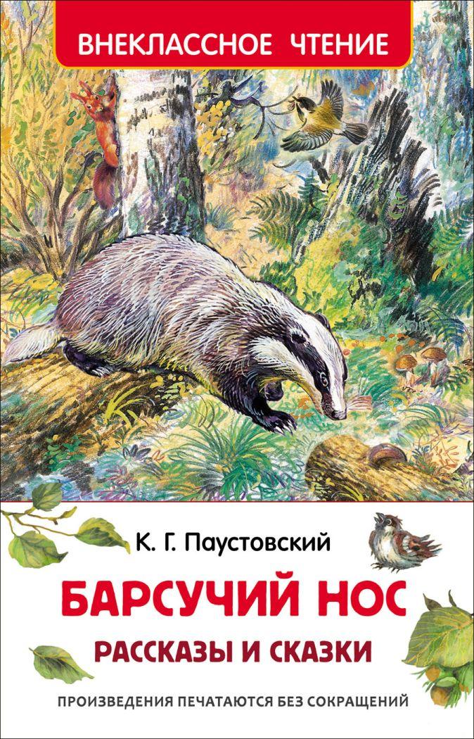 Паустовский К.Г. - Паустовский К. Барсучий нос.Рассказы и сказки (ВЧ) обложка книги