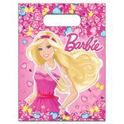 "Пакет д/подарков 6шт, ""Барби"""