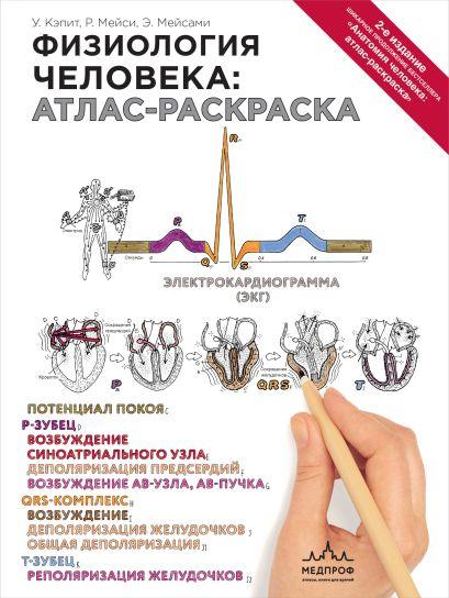Физиология человека: атлас-раскраска - фото 1