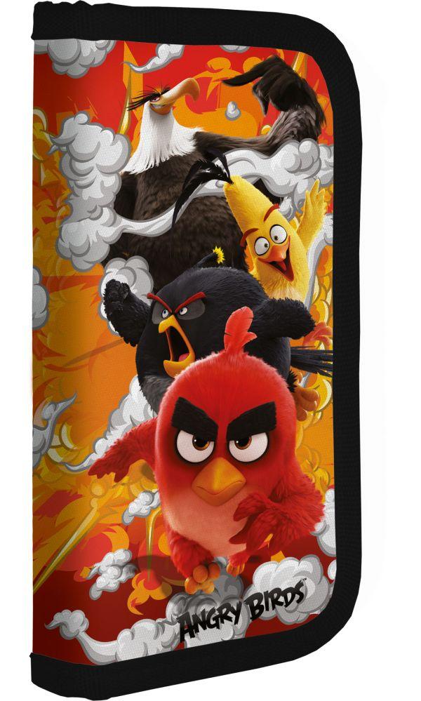 ABDB-MT1-033PR Пенал. Жесткий ламинированный на молнии. Размер: 20 х 9 х 3 см. Упак: 12//24. Angry Birds Movie