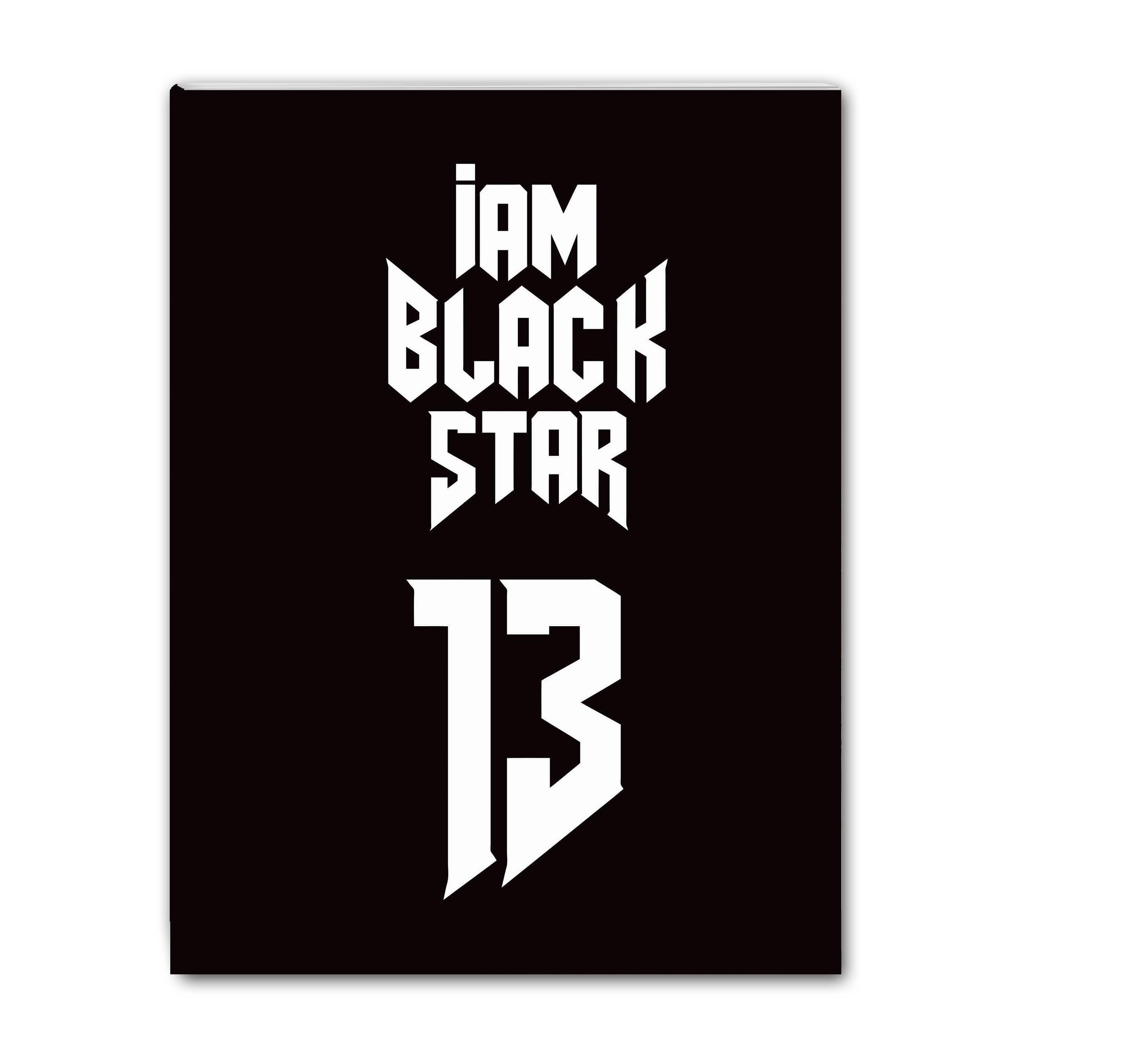 Школьная тетрадь Black Star 13 (48 л., клетка) набор тетрадей black star 48 листов 8 шт тимати егор крид natan клава кока мот kristina si l one black star