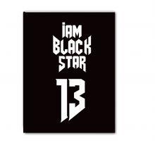 Школьная тетрадь Black Star 13 (48 л., клетка)