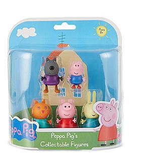 """Игр. набор """"Пеппа и друзья"""" 5 фигурок, т.м. Peppa"""