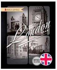 Ноутб 80л 7БЦ А5 (165*205) 7376-ЕАС глянц лам Столицы мира: Лондон
