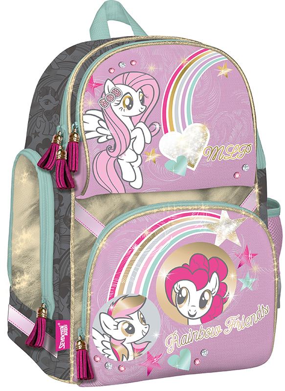 MPDB-RT2-122 Рюкзак. Профилактический с эргономической спинкой. Размер: 35 х 28 х 17,5 Упак: 4.My Little Pony