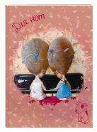 """Бумажная продукция Тетрадь для нот 24л А4 """"Гапчинская. Solfeggio"""" вертикальная, скрепка"""