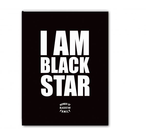 Школьная тетрадь I am Black Star. Member of Black Star Family (48 л., клетка)