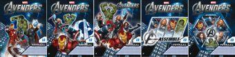 Тетр 18л скр А5 кл AVG18/5-VQ полн УФ Avengers