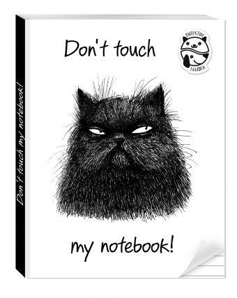 Блокнот Don't touch my notebook! Алейникова А.