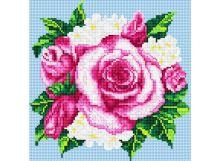 Картины со стразами. Розовые розы (035-RS-R)