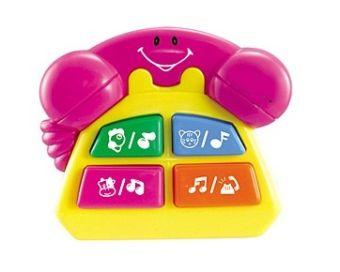 Музыкальная развивающая игрушка. ВЕСЁЛЫЙ ТЕЛЕФОН (Арт. И-6312)