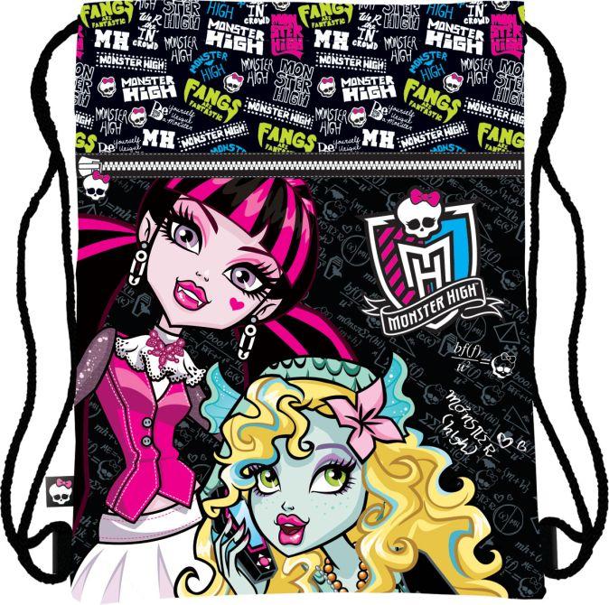 MHAB-UT1-883 Сумка-рюкзак для обуви. Размер43 х 34 см, упак. 12/24/96шт Monster High