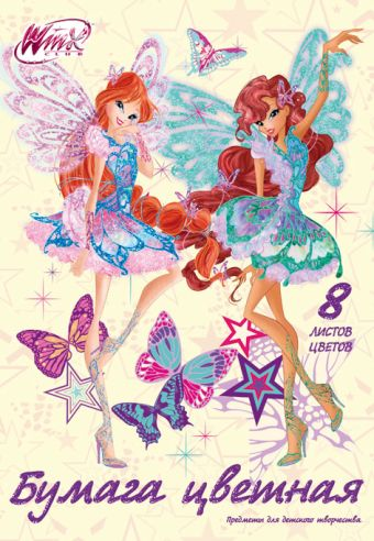 Бум цв д/дет тв 8цв 8л скр 200*285 WC10-EAC Winx Club