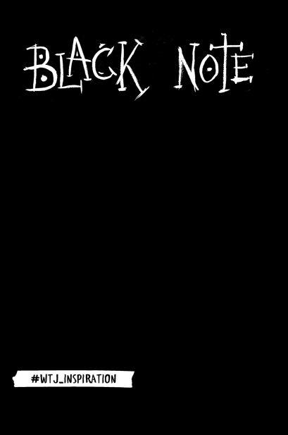 Креативный блокнот с черными страницами Black Note, 96 листов, мягкая обложка - фото 1