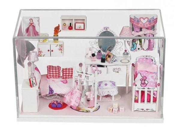 """Аксессуары для рукоделия,Декор. Набор для создания миниатюры """"Комната принцессы"""" (009-B)"""