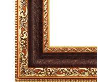 Багетные рамы 40*50. Molly (коричневый+золотой) (2232-BB)