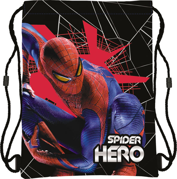 SM4M-12T-883 Сумка-рюкзак для обуви. Размер43 х 34 см, Spider-man 4