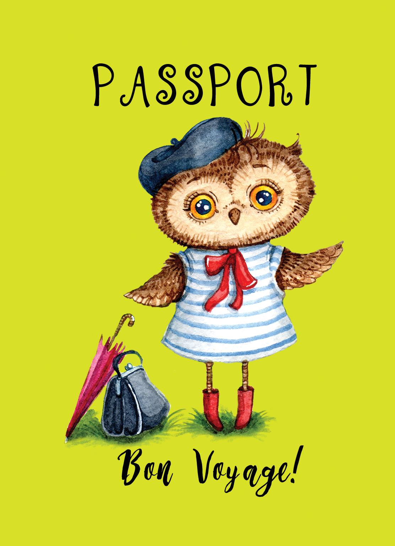 Сова. Mon amour (обложка на паспорт) платова аудиокн платова анук mon amour 2cd