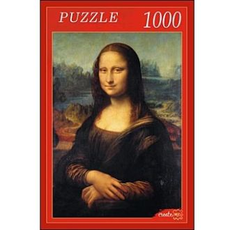 ПАЗЛЫ 1000 элементов. РК1000-7814 МОНА ЛИЗА