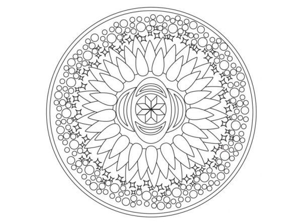 """Живопись на картоне . Магические мандалы """"Духовное развитие"""" (2956-CS)"""