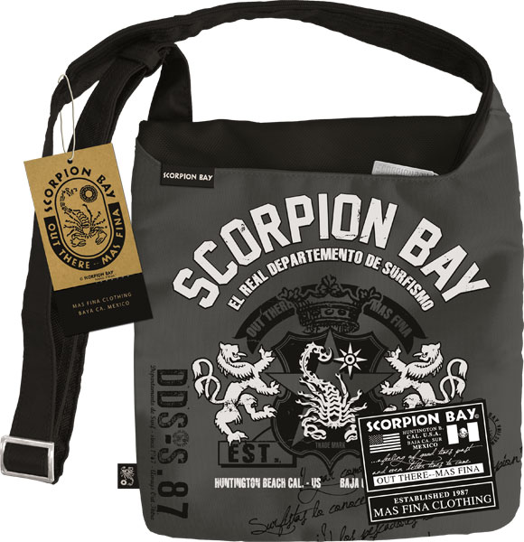Сумка с карманом на молнии 30х27 см Scorpion Bay