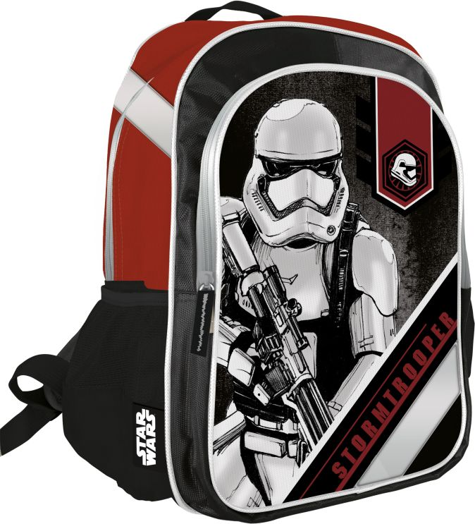 SWDB-MT1-745 Рюкзак. Мягкая спинка. Размер: 40 х 30 х 12 см. Упак: 3//12.Star Wars