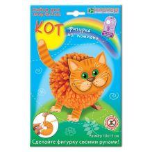 """Набор для изготовления фигурки """"Кот из помпона"""""""