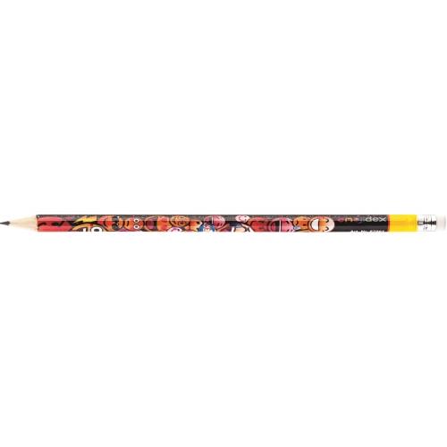 Набор чернографитных карандашей «Смайлы» с ластиком, HB