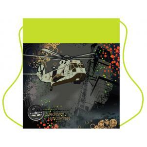 Мешок для обуви Вертолет, 1 отделение