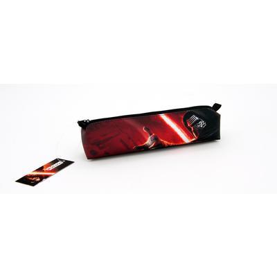 """Пенал объёмный """"Звездные войны"""", 1 отделение, на молнии, размер 21*9*4 см, 210 ден"""