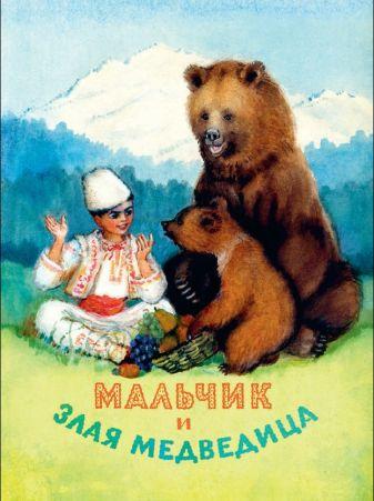 Шерешевская Н.В. - Мальчик и злая медведица обложка книги