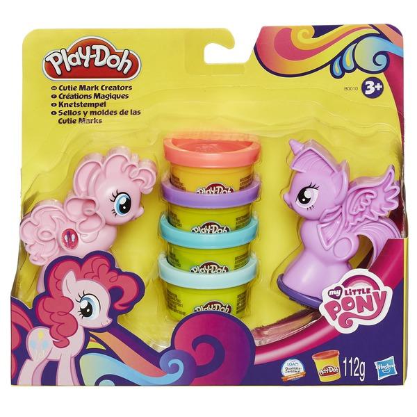 """PLAY-DOH - Play-Doh Игровой набор """"Пони: Знаки Отличия"""" (B0010) обложка книги"""