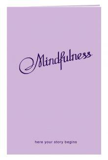 Блокнот в пластиковой обложке. Mindfulness (лаванда) (формат малый, 64 страницы) (Арте)