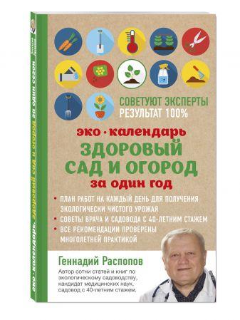 Геннадий Распопов - Эко календарь. Здоровый сад и огород за один год обложка книги