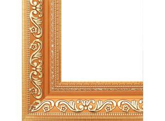 Багетные рамы 30*40. Jasmine (с.коричневый+золотой) (1242-BL)