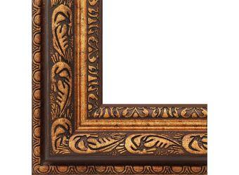 Багетные рамы 40*50. Lydia (коричневый+золотой) (2312-BB)