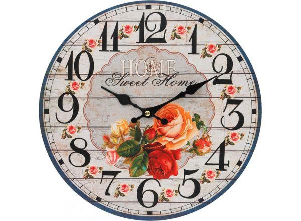 """Часы. Часы настенные """"Любимый дом"""", диаметр 34 см (110-CL)"""