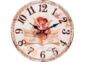 "Часы. Часы настенные ""Музыка ангелов"", диаметр 34 см (127-CL)"