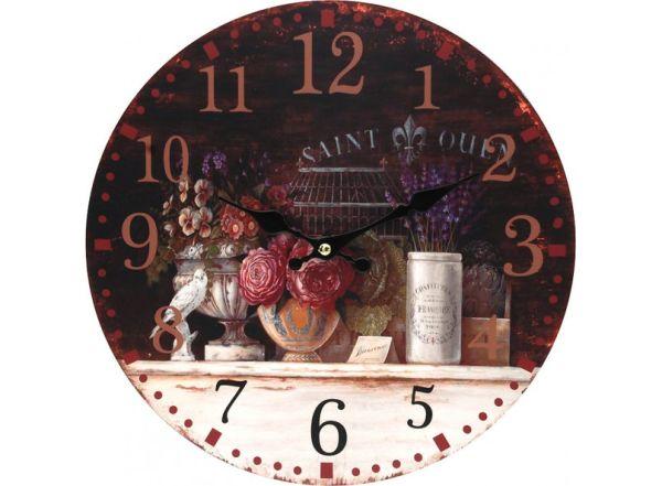 """Часы. Часы настенные """"Вечерний Прованс"""", диаметр 34 см (128-CL )"""