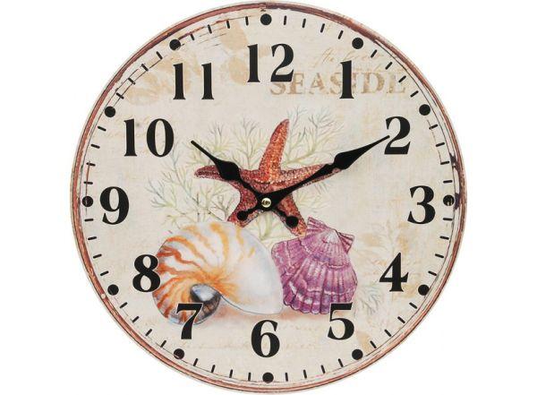 """Часы. Часы настенные """"Морские сокровища"""", диаметр 34 см (132-CL)"""