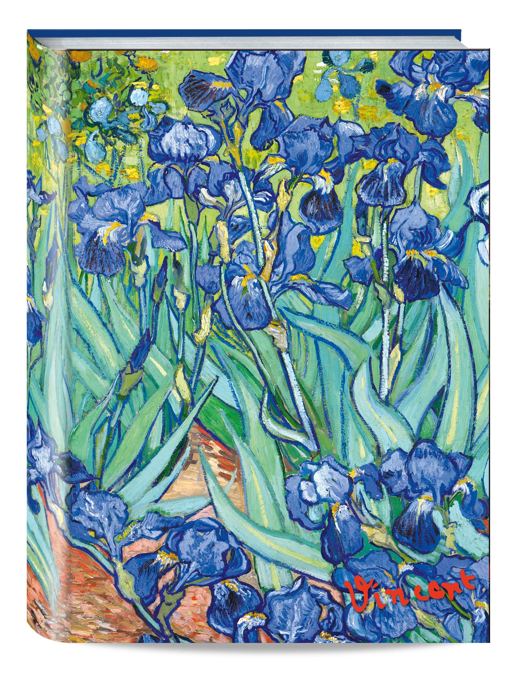 Обложка пластиковая универсальная. Ван Гог. Ирисы (маленький формат) (Арте) блокнот в пластиковой обложке ван гог цветущие ветки миндаля формат малый 64 страницы арте