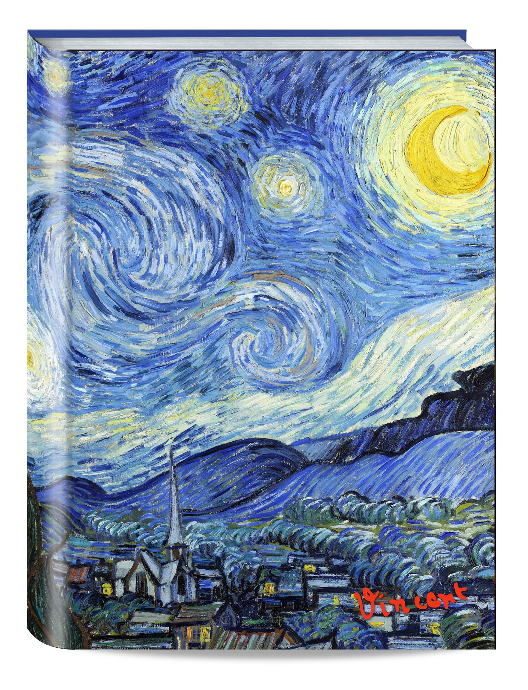 Обложка пластиковая универсальная. Ван Гог. Звёздная ночь (большой формат) (Арте) блокнот в пластиковой обложке ван гог цветущие ветки миндаля формат малый 64 страницы арте