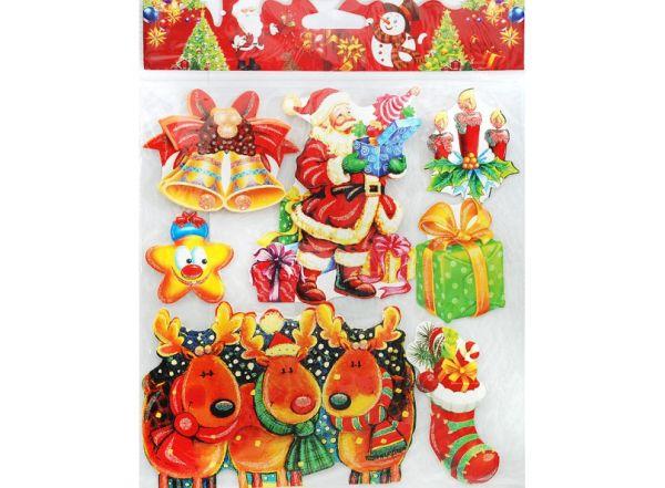 """Аксессуары для скрапбукинга. Набор стикеров """"Поезд Деда Мороза"""" (2690-SB)"""