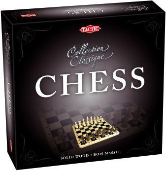 Tactic Games - Настольная игра Шахматы (коллекционная серия) обложка книги