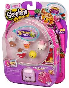 """Игровой набор """"Shopkins"""", 5 штук Moose (Shopkins)"""