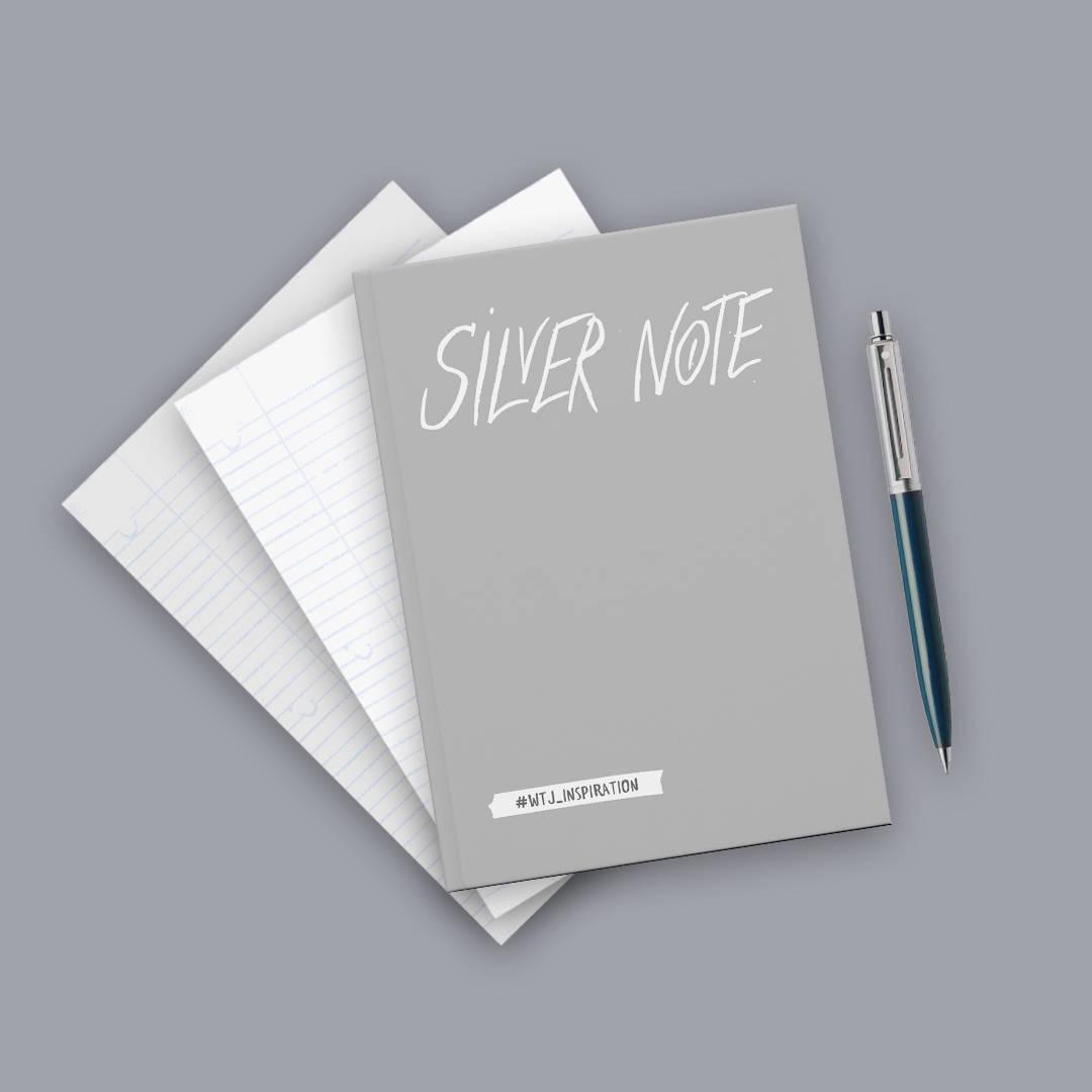 где купить Silver Note. Креативный блокнот с серебряными страницами (мягкая обложка) дешево