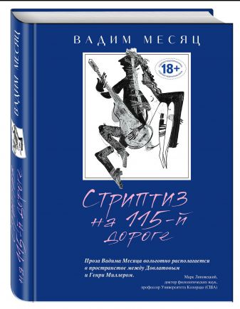 Вадим Месяц - Стриптиз на 115-й дороге обложка книги